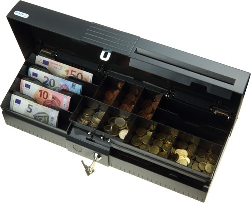 Anker ECC Euro cash cassette dark grey (RAL 7021)