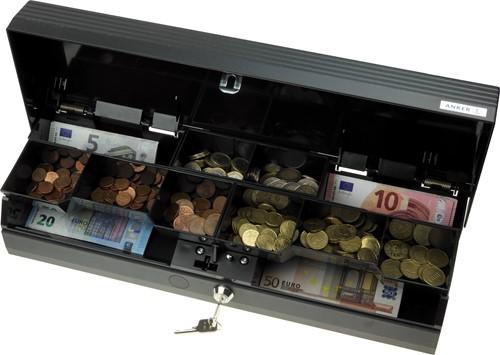 Cash drawer Anker SCC+ Standard lock-001 dark grey (RAL 7021)