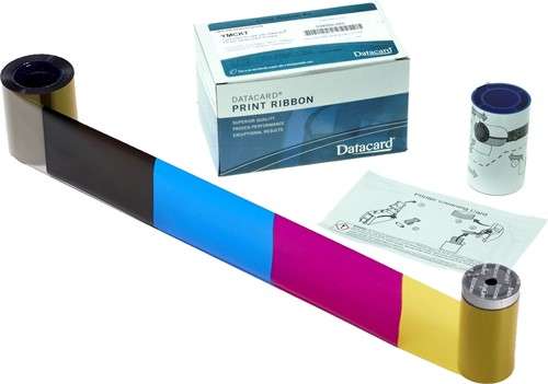 YMCKT-K Printer ribbon for Datacard SD260-SD360-SD460 (375 prnt.)