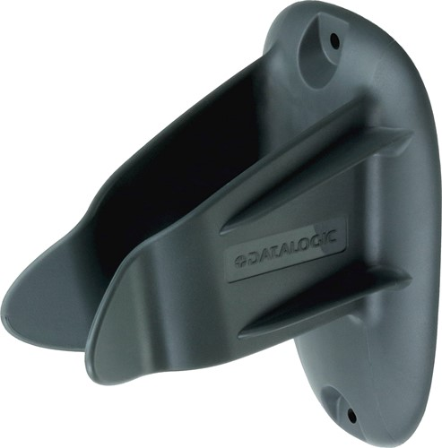 Universal wall holder for barcode scanners - light grey