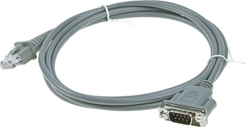 Wand Emulation cable straight for Datalogic barcode scanners
