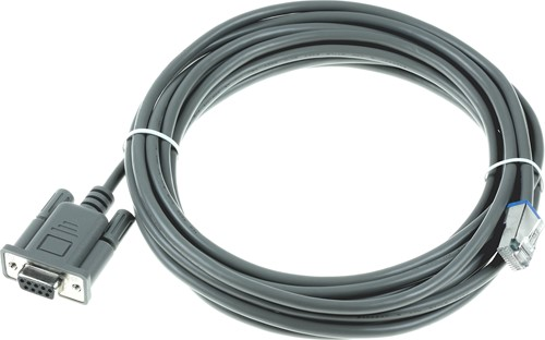 RS232 cable straight 4.50m for Datalogic Magellan 3450VSi-3550HSi