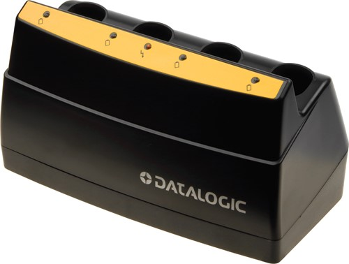 4-Slot battery charger for Datalogic PowerScan