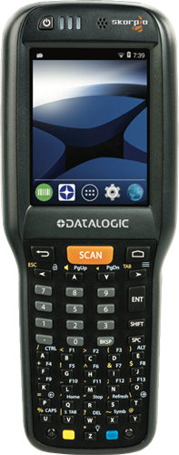 Datalogic Skorpio X4 Pistol grip 1D, 50-Key, Android 4.4
