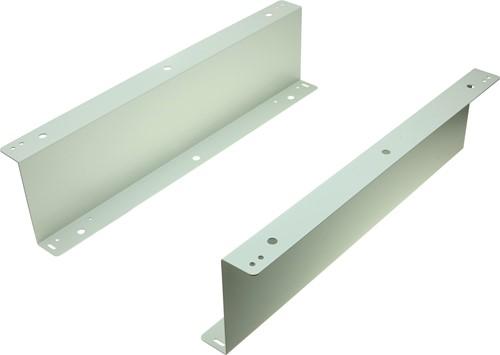 Undermount brackets light grey for cash drawer