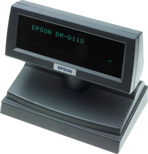 Epson DM-D110 customer display dark grey (USB-RS232)