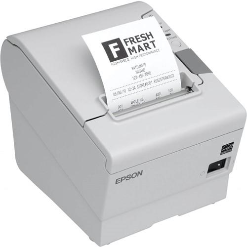 Epson TM-T88 V receipt printer light grey incl. PS-180 (USB-ETH)