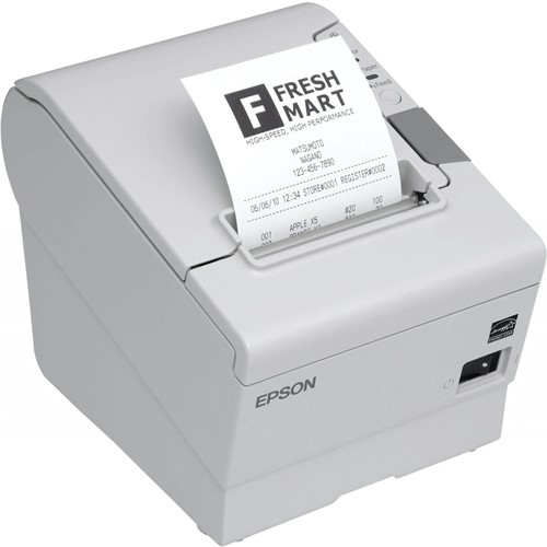 Epson TM-T88 V receipt printer light grey incl. PS-180 (USB-RS232)