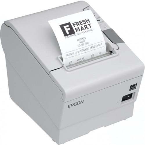 Epson TM-T88 V receipt printer light grey incl. PS-180 (USB-RS232)