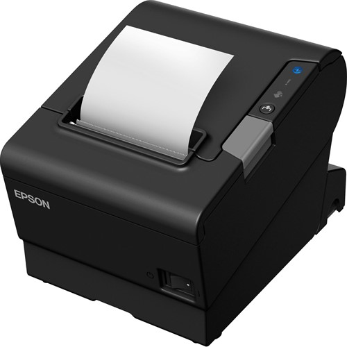 Epson TM-T88VI-iHub receipt printer black incl. PS-180 (USB-SER-ETH)