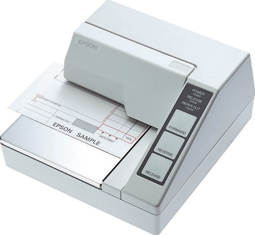 Epson TM-U295 slip printer light grey (RS-232)