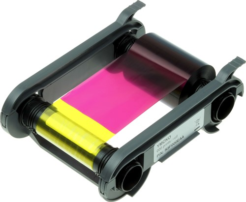 YMCKO Printer ribbon for Evolis Edikio-Primacy-Zenius (200 prnt.)