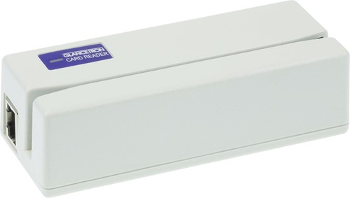 Glancetron 1290 card reader 3-track white (USB-Keyboard)