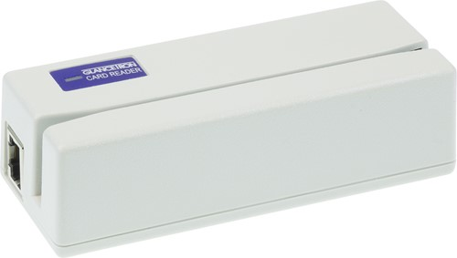 Glancetron 1290 card reader 3-track white (USB-COM)