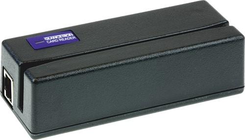 Glancetron 1290 card reader 3-track black (USB-COM)
