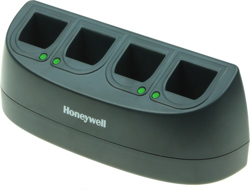 4-Slot battery charger for Honeywell Voyager, Xenon, Granit batteries