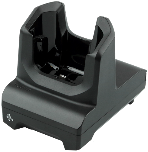Charge and communication cradle for Zebra TC20-TC25