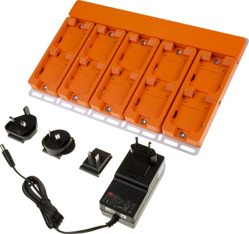ProGlove 10-slot charging station with universal power supply