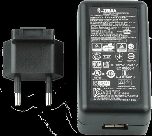 Power supply with USB connection for Zebra EC30-TCxx-MC9300
