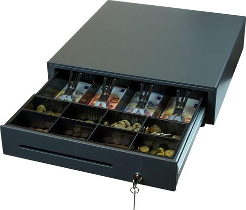 Star CB-2002 cash drawer dark grey