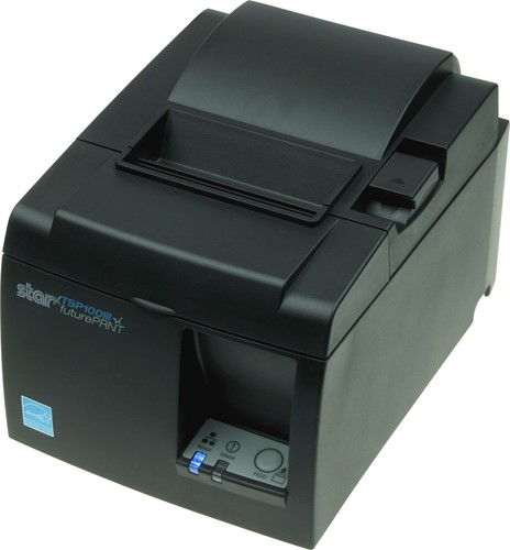 Star TSP143 III receipt printer dark grey (Wireless LAN)