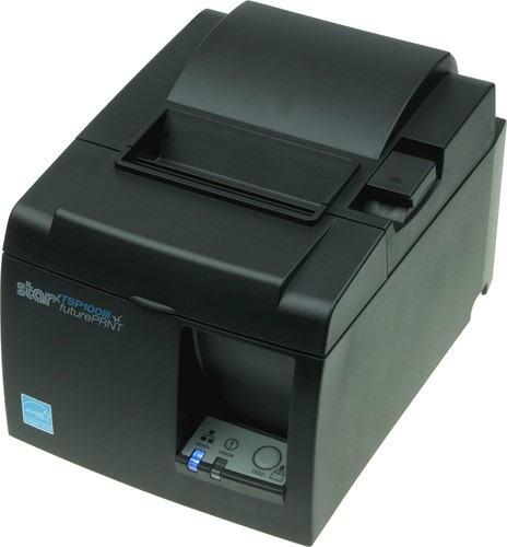 Star TSP143 III receipt printer dark grey (USB-WLAN)