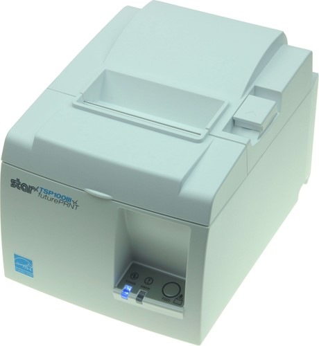 Star TSP143 III receipt printer light grey (Wireless LAN)