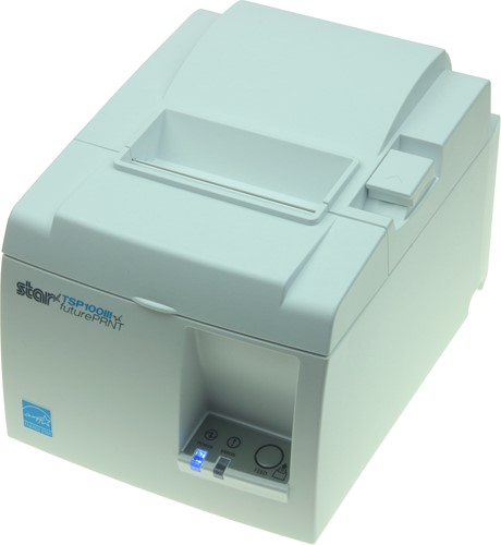 Star TSP143 III receipt printer light grey (USB-WLAN)