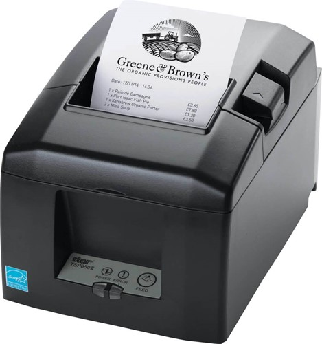 Star TSP654 II receipt printer dark grey (Bluetooth)