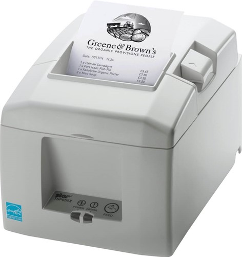 Star TSP654 II receipt printer light grey (Parallel)