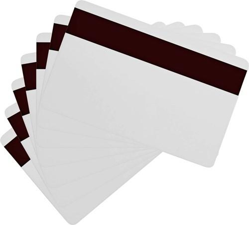 Zebra PVC cards 30 mil Hi-Co white (500 pcs.)