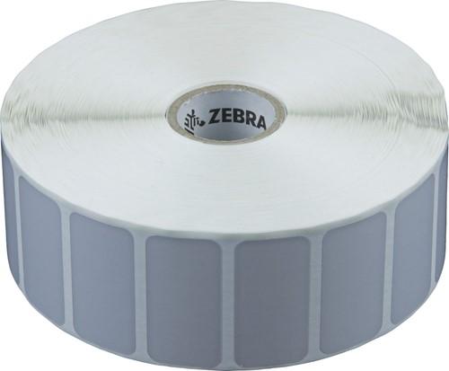 Zebra Z-Ultimate 3000T Silver Polyester label 38 x 19mm