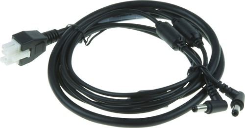 DC cable for Zebra multiple-slot battery chargers