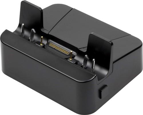 Cradle with rugged docking connector for Zebra ET50-ET51-ET55-ET56