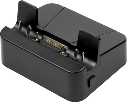 Cradle with rugged docking connector for Zebra ET50-ET55