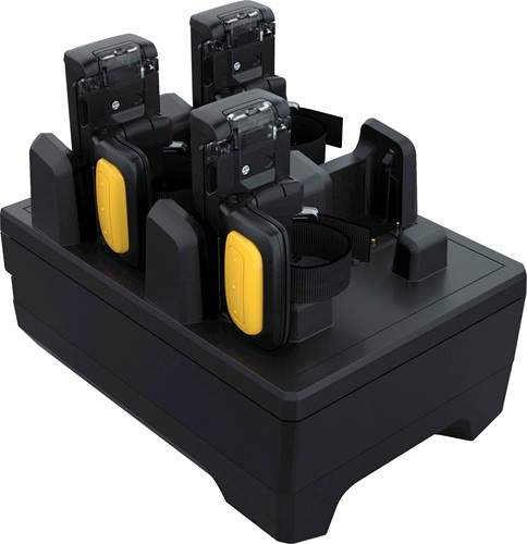 4-Slot charge only cradle for Zebra RS5100