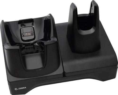 Charge and communication cradle for Zebra TC8000-TC8300