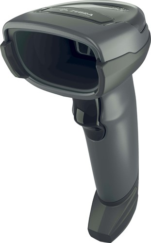 Zebra DS4608 2D barcode scanner RS232-kit black incl. stand