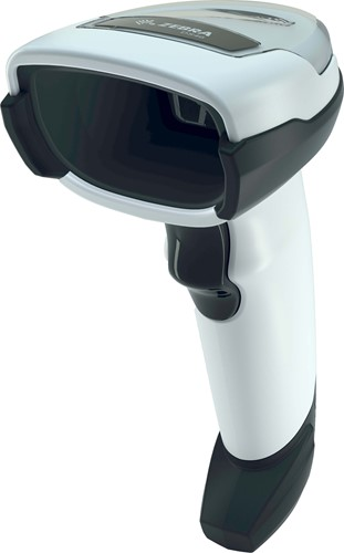 Zebra DS4608 2D barcode scanner RS232-kit light grey incl. stand