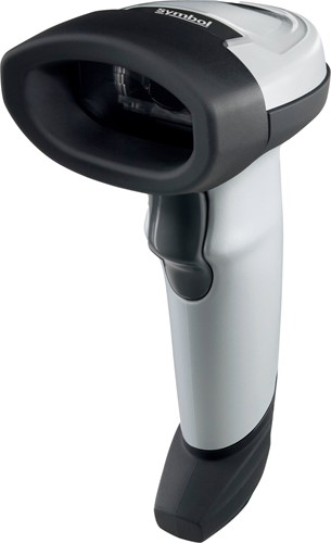Zebra LI2208 barcode scanner USB-kit light grey incl. stand