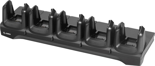 5-Slot charge and communication cradle for Zebra MC3300