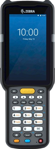 Zebra MC3300x Handheld, SE4770 1D/2D Standard Range Android 10