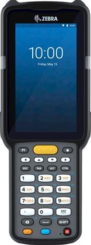 Zebra MC3300x Handheld, SE4770 45° 1D/2D SR, 29-Key, 13MP, Android 10