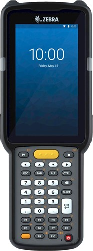 Zebra MC3300x Handheld, SE4770 1D/2D SR, 38-Key, 13MP, Android 10
