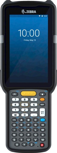 Zebra MC3300x Handheld, SE4770 45° 1D/2D SR, 47-Key, Android 10