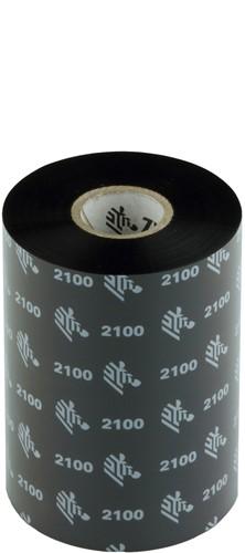 Zebra 2100 Wax ribbon 102mm x 450m