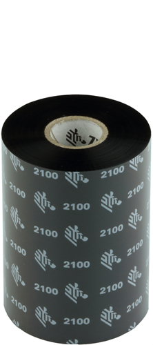 Zebra 2100 Wax ribbon 102mm x 450m