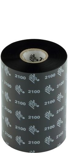 Zebra 2100 Wax ribbon 106mm x 450m
