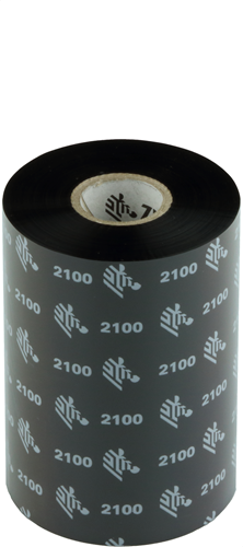 Zebra 2100 Wax ribbon 106mm x 450m