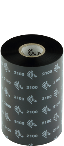 Zebra 2100 Wax ribbon 110mm x 450m